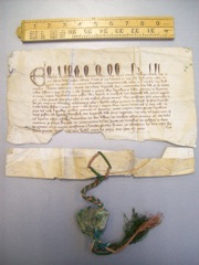 Image of the original patent letter