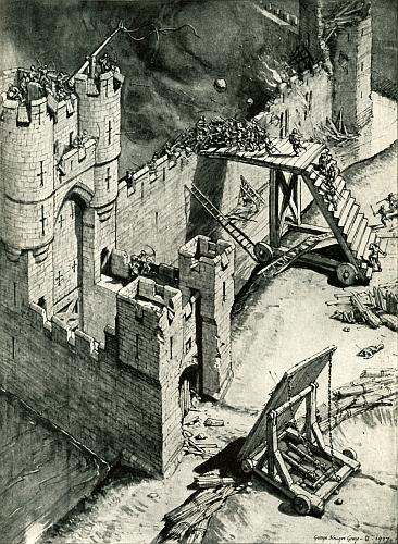 essays on medieval castles Medieval architecture essays discuss the two styles of architecture and the purposes of their building types.