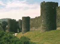 Town Walls of Conwy, North Wales