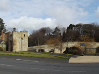 Warkworth Bridge and Bridge Gate